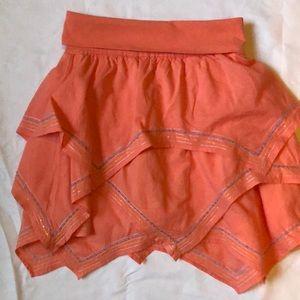 Skirt girls new size M 8 cotton lining Gapkids